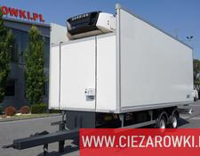 ZASŁAW refrigerated trailer D-670 , diesel-electric Carrier , 16 EPAL , BPW , air suspension