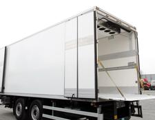 WIELTON refrigerated trailer 18 epal / Carrier 850u / lift BAR