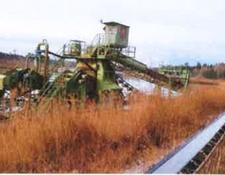 Rohr Bagger dredge Swimming Continuous bucket dredge