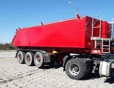 Langendorf tipper semi-trailer 7 UNITS - SKA 24/29 Thermo-mulda 25m3 for bitumen