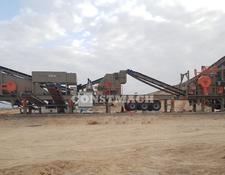 Constmach mobile crushing plant PREMIUM QUALITY, 250 tph CAPACITY MOBILE CRUSHING PLANT