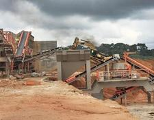 Constmach mobile crushing plant MOBILE  JAW + CONE + VSI  CRUSHER, 60 tph CAPACITY