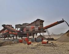 Constmach mobile crushing plant 200-250 tph CAPACITY MOBILE JAW AND IMPACT CRUSHER, DOUBLE CHASS