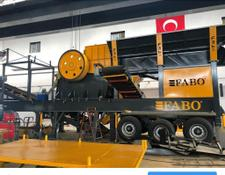 Fabo MJK-110 MOBILE PRIMARY JAW CRUSHER READY IN STOCK