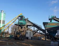 Constmach concrete plant 100 m3/h MOBILE CONCRETE PLANT, 2 YEARS WARRANTY, CE CERTIFIED,T