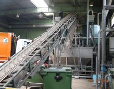 Bosch waste recycling plant Technological line of the wasting segregation and BIO slime prep